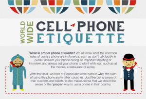 Phone Etiquette Infographic by RepairLabs