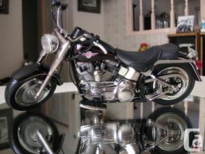 Harley Davidson Fat Boy Black