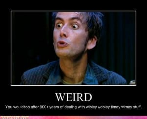 Funny Doctor Who David Tennant