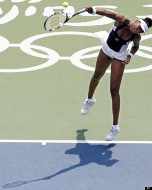 ... Venus Williams, gold medalist in tennis in 2008 and 2000 #Olympics