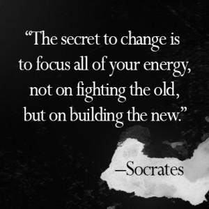 Socrates build new picture quote motivation