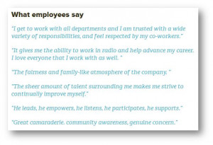 Greater Media Philadelphia Employee Quotes