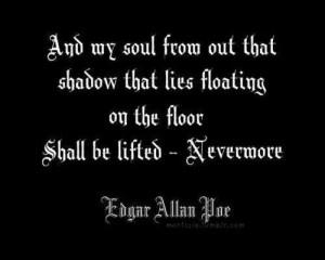 Nevermore - Edgar Allan Poe
