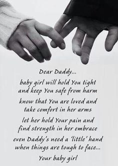 Even Daddy's need a little hand More