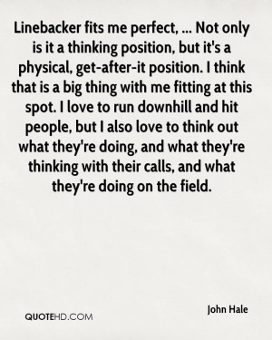 ... people, but I also love to think out what they're doing, and what they
