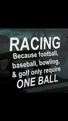 Track Racing, Ball, Nascar, Quotes, Cars, Sports, Funny, Dirt Track ...