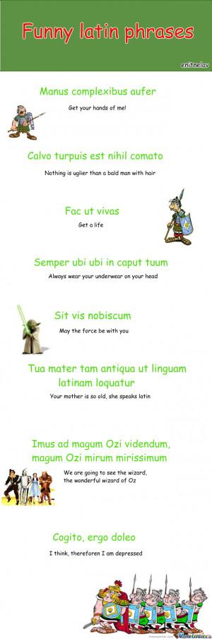 Used in html, pdf. Common Latin Sayings . Popular Latin Mottos ...