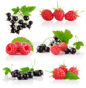 Set Fresh Berry Fruits With
