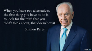 inspirational quotes quotes dec 10 inspirational quotes shimon peres ...