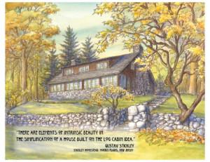 Gustav Stickley Homestead Morris Plains NJ with Stickley qoute 792x612