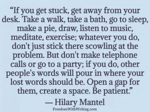 Hilary Mantel quote