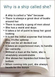 Nautical Terms Funny