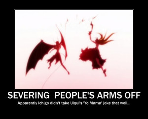 ... funny lol motivational posters bleach funny bleach poster espada