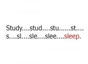 lazy, quotes, sleep, study - inspiring picture on Favim.com