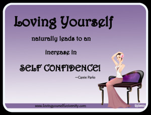 Loving yourself quote, Loving Yourself University, Cassie Parks ...