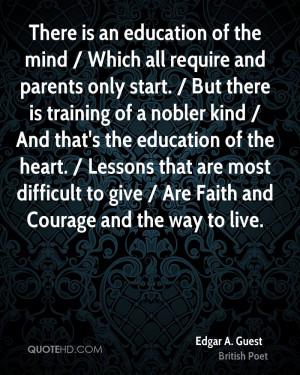 Edgar A. Guest Faith Quotes