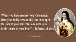 First Holy Communion Inspirational Quotes