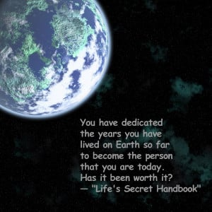 Prosperity Quotes Image from Life's Secret Handbook