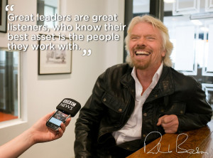 ... you think are the characteristics of great leaders? We're listening