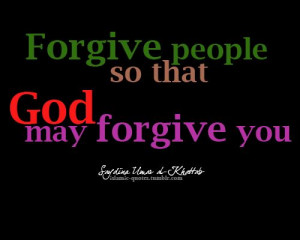 Islam, wisdom, forgiveness