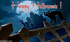 Haunted Halloween Cat