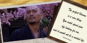 The Last Samurai, Katsumoto