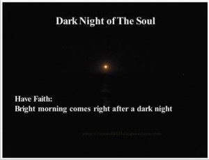 Faith dark night of the soul
