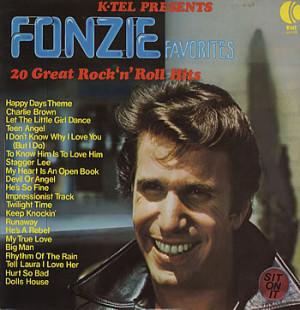 THE FONZ Fonzie Favorites - 20 Great Rock 'N' Roll Hits (Australian K ...