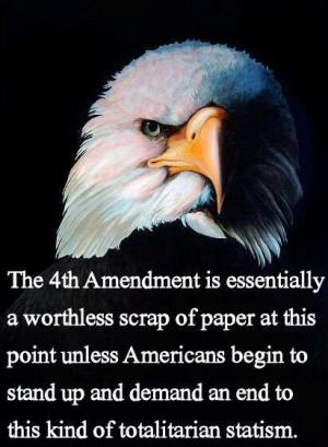 Fourth Amendment - U.S. Constitution