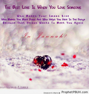 Islamic Love Quotes For Him...