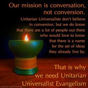 Conversation not conversion