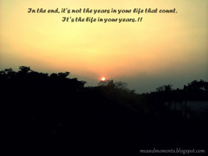 year ending quotes, sun set, life quotes