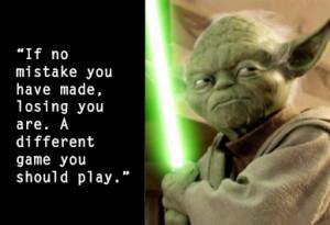 Wisdom from Yoda | Inspiring Quotes