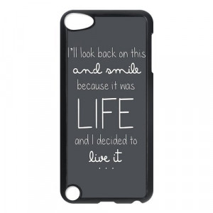 Ed Sheeran Quotes Ipod Touch 5th Generation Case Hard Plastic Ipod ...