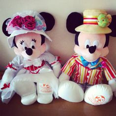 Mary Poppins Minnie & Bert Mickey ♥ More