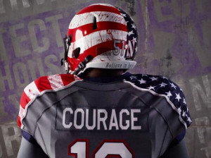 So this weekend, for a game against Michigan, Northwestern will wear ...