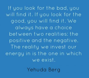 Yehuda Berg #ev: if only those around me could understand this I ...
