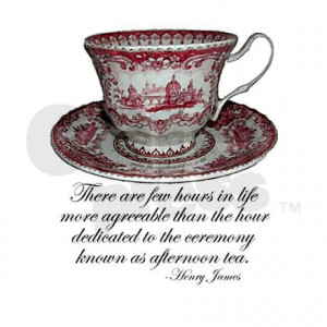Afternoon Tea Quote