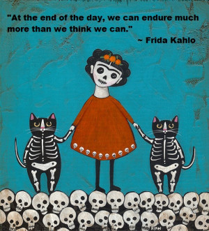 Quote from Frida Kahlo via {link url=