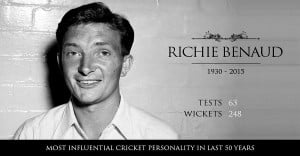 ... Aussie skipper and 'The Voice of Cricket' Richie Benaud dies at 84