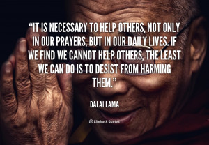 quotes about not helping others