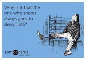 funny snoring
