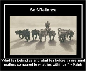 Self-Reliance quotes and affirmations.