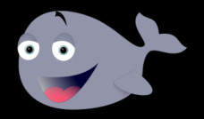 Funny whale