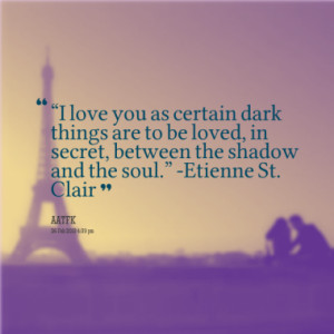French I Love You Quotes
