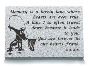 pad memorial colour black granite 18 x 12 16 x 10 fisherman memorial ...