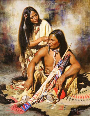 native american indian spirit horses / Our Grandfathers Words