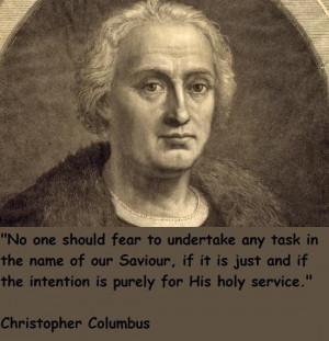 Christopher columbus famous quotes 4
