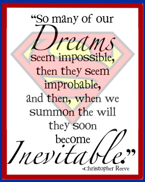 Superhero Quotes Inspirational Children art - superhero print