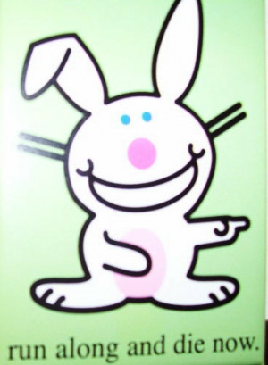 Happy Bunny Comments, Graphics, Greetings and Images - EditingMySpace ...
